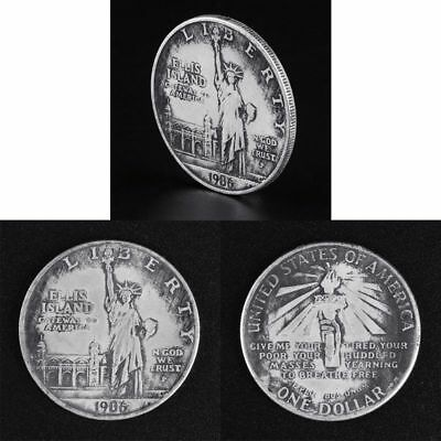 1906 Statue Of Liberty United States With Torch Commemorative Challenge Coin