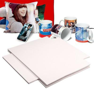 100 Sheets xA4 Dye Sublimation Heat Transfer Paper for Polyester Cotton T- Shirt