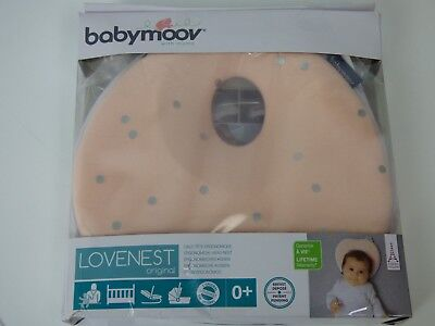 Sweet Lovenest Original Baby Pillow and Head Support Pink