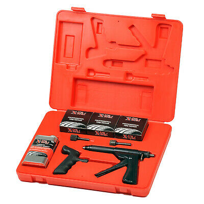 Professional Tire Repair Kit, mushroom style, vulcanizing gum, automotive tools