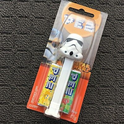 """STAR WARS: STAR TROOPER """"White"""" Novelty Shaped Collectable PEZ Candy Dispenser"""