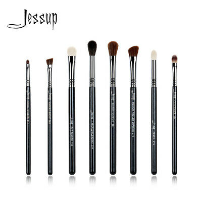 Jessup Pro Eye Cosmetic Brush Set Eyeshadow Blending Brow