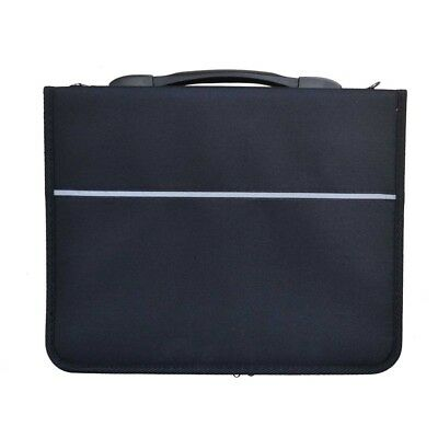Seawhite Presentation Portfolio - with 3 rings (padded textile finish)