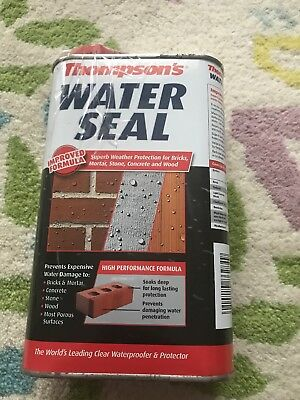 Thompson'S Water Seal Brick Mortar Stone Concrete Waterproofer & Protector 1L