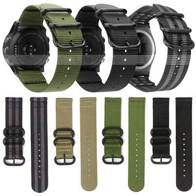 Soft Nylon Watch Band Sport Strap For Samsung Galaxy Watch 42mm R810 /46mm R800