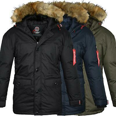 low priced ba50b 251bb CANADIAN PEAK BY Geographical Norway Men's Parka Winter Winter Jacket New