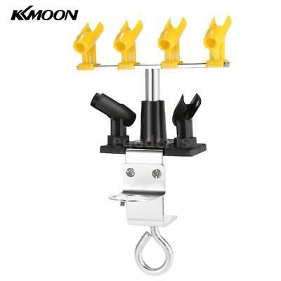Professional Clamp-On Airbrush Holder 6 Mount Spray Gun Hold Stand Station H7S4