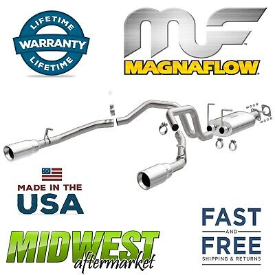 MagnaFlow 409 Stainless Cat Back Dual Exhaust System For 19 Dodge Ram 1500 5.7L