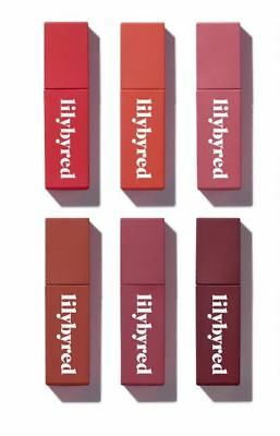 LILYBYRED Mood Liar Velvet Tint 6 Color Lip Color Cosmetic MLBB