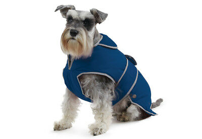 Ancol Stormguard Dog Coat Navy Medium - Extra Protection Against Cold Weather