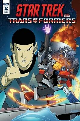 Star Trek vs Transformers #2 Cover A (Preorder Release Date Oct 17)