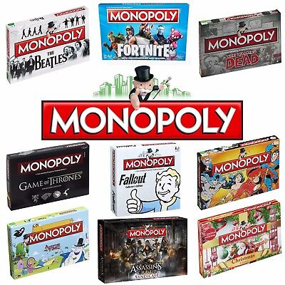 MONOPOLY - Perfect Family Game - Choose from 70 Special Editions!