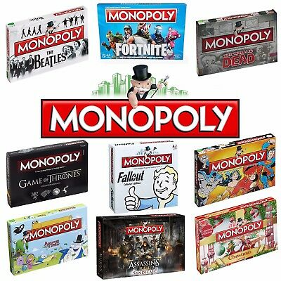 MONOPOLY - Perfect for Christmas - 70+ Special Editions!