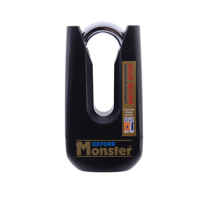 Oxford OF31 Monster Padlock Only Motorcycle Motorbike Lock Sold Secure