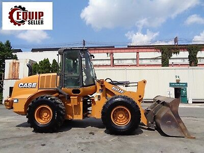 2013 Case 612F Wheel Loader - Enclosed Cab - 4x4 - Diesel