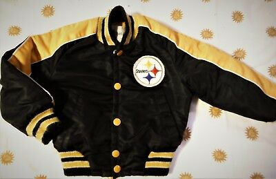 NFL PITTSBURGH STEELERS FOOTBALL COAT TODDLER  sz 3/4