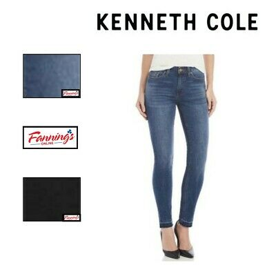 NEW! Kenneth Cole Ladies' Jess Skinny Mid-Rise Ankle Skinny Jeans VARIETY SIZE