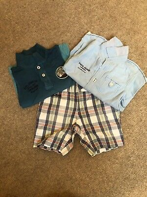 Boys Shirts And Shorts Set From Pepe Jeans Age 2-3 Years Great Condition
