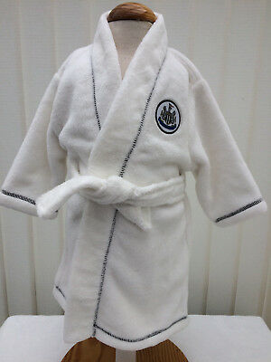 Newcastle United FC Dressing Gown Baby Size 0-6 Months