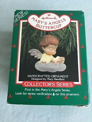 1988 Hallmark Ornament BUTTERCUP - 1st in Mary's Angels Collction Series, QX4074