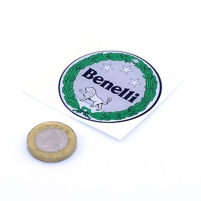 Benelli Motorcycles Badge Domed Gel STICKERS Decal Motorbike Vinyl 50mm