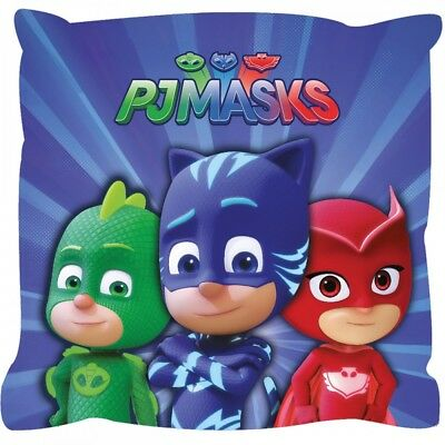 Pj Masks Characters Cushion Pillow  Childrens Gift New Official