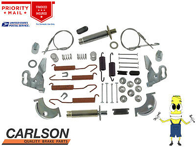 Complete Rear Brake Drum Hardware Kit for Chevy CHEVELLE 1964-1973 Carlson 9½ in