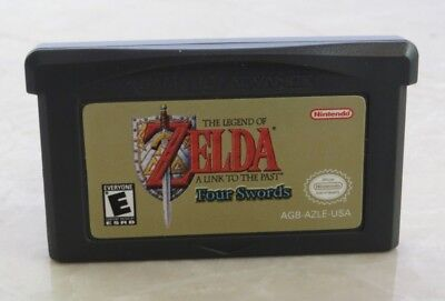 Legend of ZELDA: Four Swords Nintendo Game Boy Advance GBA Cartridge *Rated 'E'*