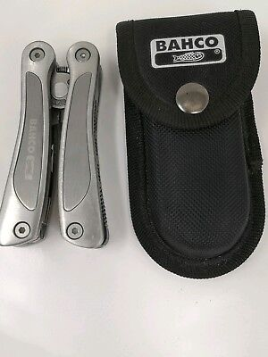 Bahco MTT051 Multi-Tool with Holster MTT051 10-piece - Survival Camping etc (d4a