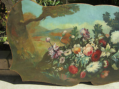 Italian old master st  Oil/Canvas  Wall Panel  Wood stretcher no Frame 1 of 3