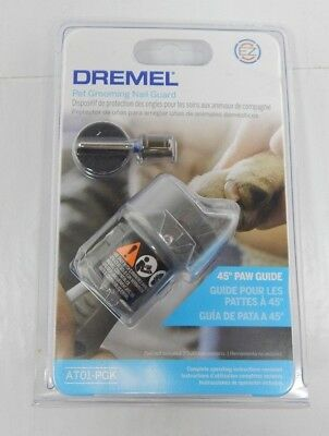 NEW Dremel Pet Dog Grooming Paw Nail Guard Attachment AT01-PGK - FAST SHIPPING!