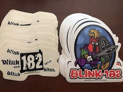 74 Blink 182 VINTAGE 2000 Band STICKERS