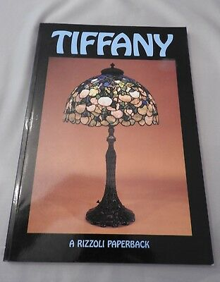 Reference Book Tiffany Glass a Rizzoli Paperback