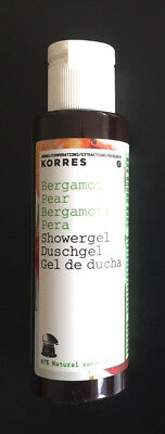 KORRES BERGAMOT PEAR SHOWER GEL  40ml