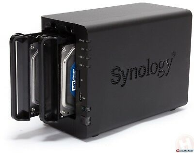 Synology DS213 Disk Station 2-Bay NAS (DS213) with 4TB Storage (2x2TB WD Red)