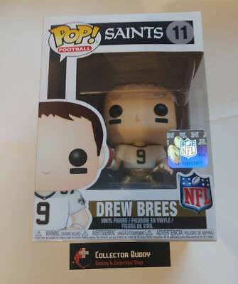 Funko Pop! Football 11 Drew Brees New Orleans Saints NFL Pop Vinyl Figure