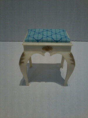 Vintage Sindy Doll Vanity Stool/Bench & Mattel? Bedtray