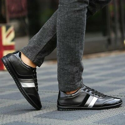 Genuine Leather Men's Shoes, High Quality, Luxury Brand
