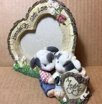 Mary's Moo Moos Branded With Love Picture Frame 212741 Rare(7)