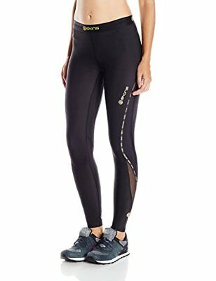 Skins Women's DNAmic Compression Long Tights, Black, Small