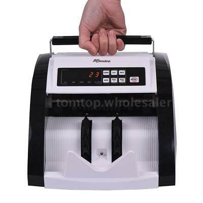 Auto Money Cash Counting Bill Counter Bank Counterfeit Detector UV & MG Machine