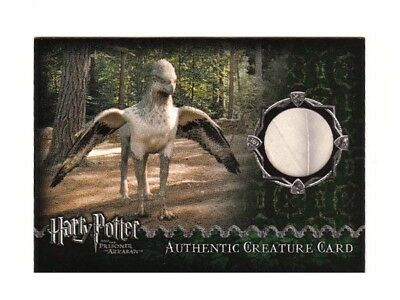Harry Potter Prop Card Buckbeak Feather Prisoner of Azkaban 190/390 RARE