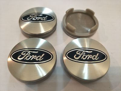4pcs 54mm Ford Wheels Center Hub Caps Cover Focus Fiesta ST Mondeo C-Max Fusion