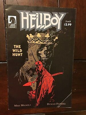 Hellboy The Wild Hunt #2 first appearance Nimue Blood Queen-  HTF