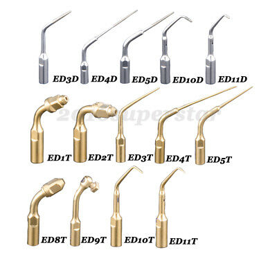 14 Typle Dental Ultrasonic Scaler Scaling Endo Perio Tip Fit EMS Woodpecker ED