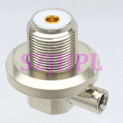 1pce Connector SO239 UHF female for radio solder RG58 RG142 LMR195 right angle