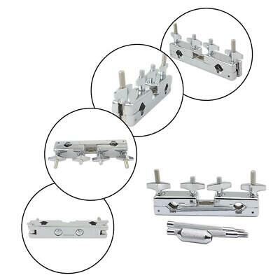 Professional Metal Connecting Clamp Holder Bracket Rod Percussion Drum T