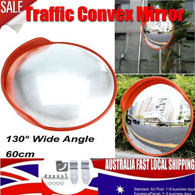 60cm Traffic Safety Indoor Outdoor Convex Security Safety Mirror For Wall & Pole