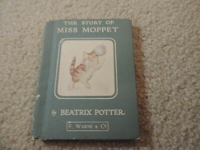 Vintage The Story Of Miss Moppet by Beatrix Potter