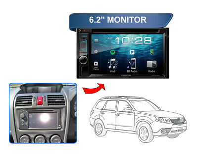 KENWOOD DDX918WS FOR Subaru Forester SJ 2013 to 2014